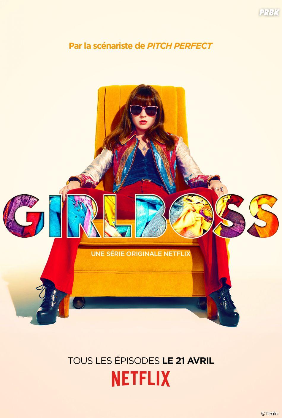 L'affiche de Girlboss avec Britt Robertson