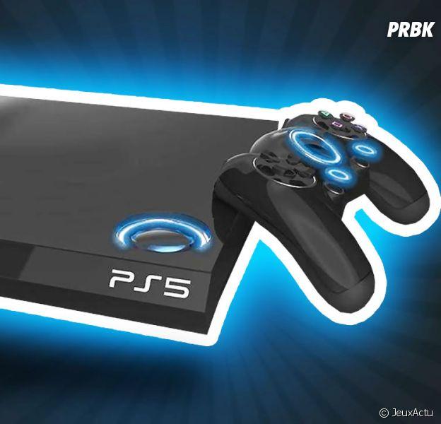 Vue d'artiste de ce qui pourrait être la prochaine PS5