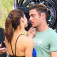 Zac Efron et Alexandra Daddario très proches sur le tournage de Baywatch