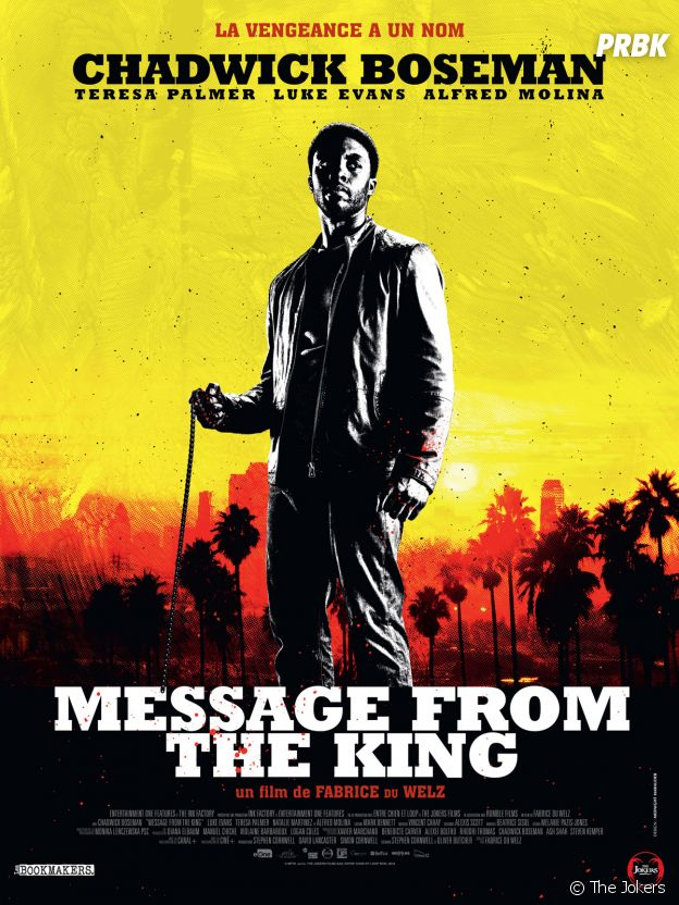 Affiche Message From the King.
