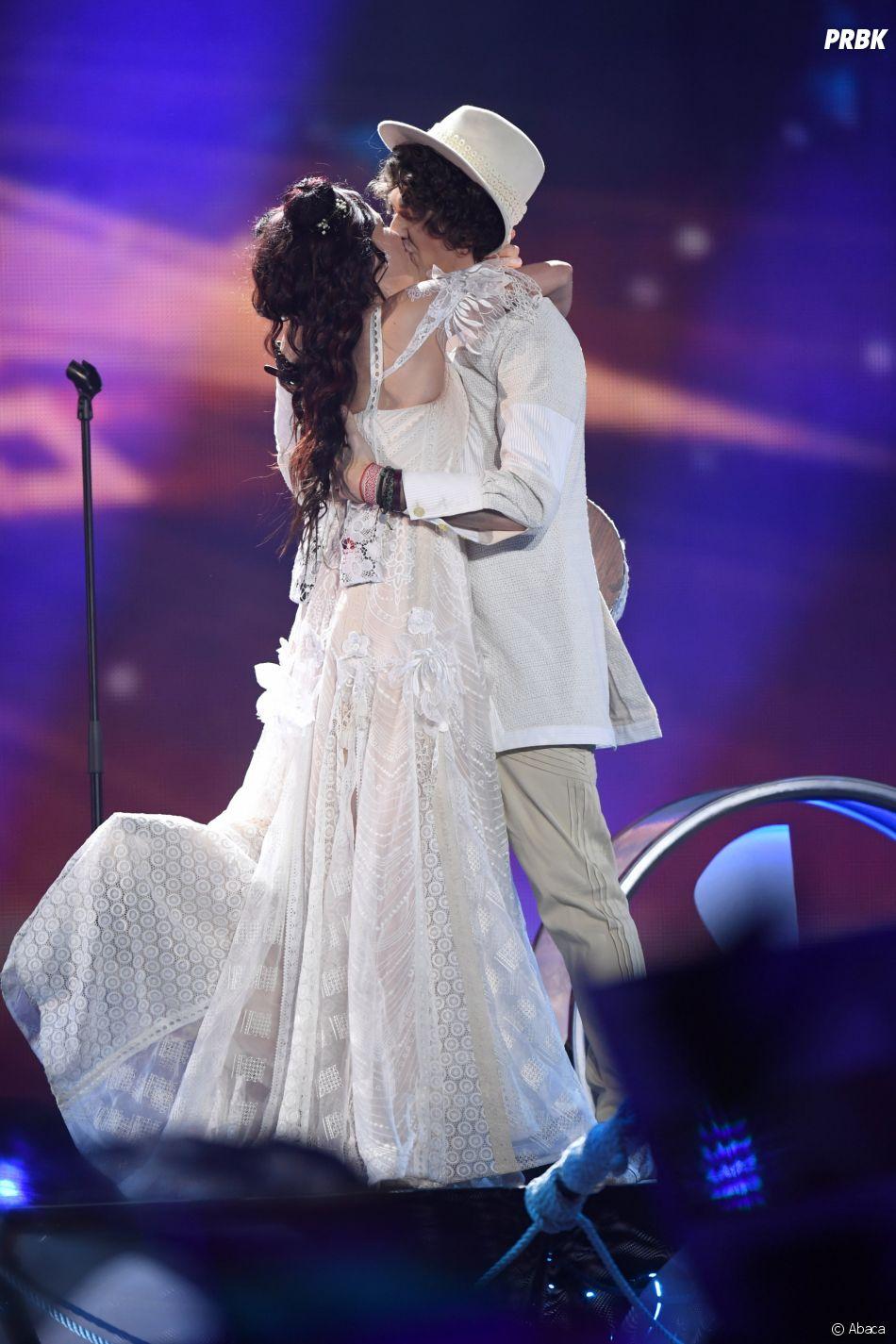 Eurovision 2017 : le baiser langoureux du duo Biélorusse !