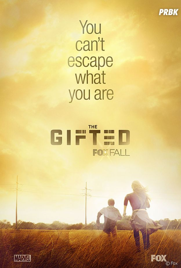 Affiche de la série The Gifted.