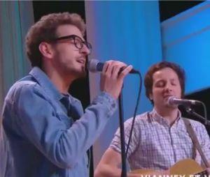 Quotidien : Vincent Dedienne et Vianney chantent en duo dans l'émission
