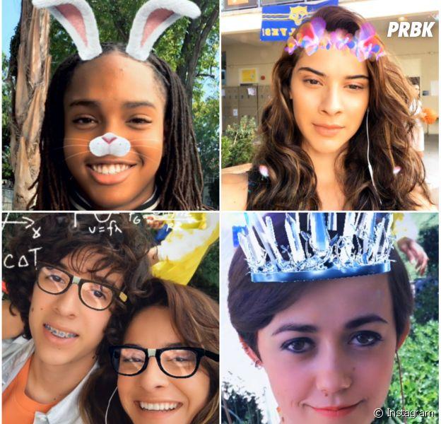 Instagram : les filtres comme sur Snapchat dispo sur la mise à jour du 16 mai 2017