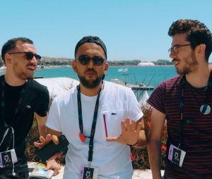 Jhon Rachid, Kemar et Anthony Lastella restent connectés 24h/24 au Festival de Cannes 2017 !