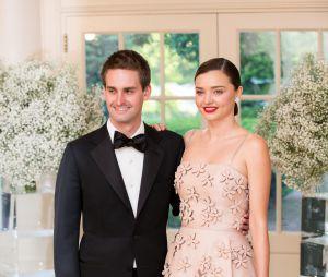 Miranda Kerr et Evan Spiegel se sont mariés ce samedi 27 mai 2017