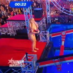 Ninja Warrior 2 : une candidate se met entièrement nue, Alicia Aylies en pleurs
