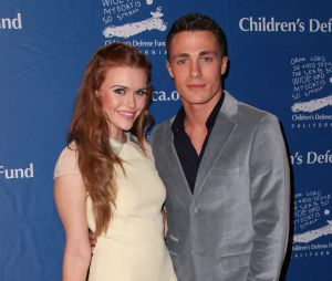 Colton Haynes et Holland Roden