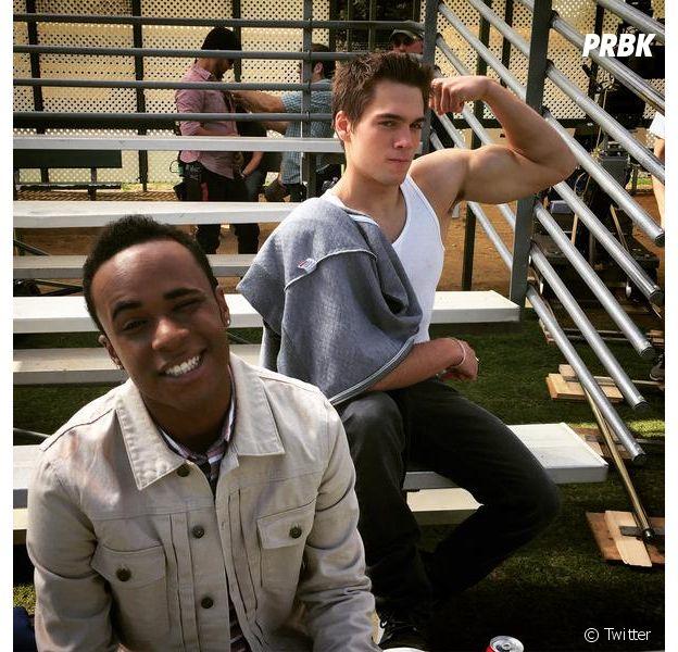 Dylan Sprayberry (Teen Wolf) et Khylin Rhambo