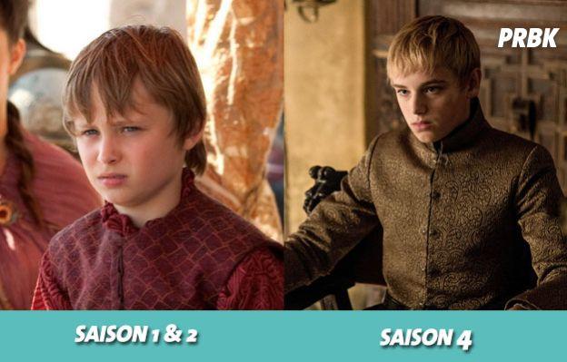 Game of Thrones : Tommen a changé de visage au cours de la série