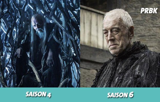 Game of Thrones : la Corneille à trois yeux a changé de visage au cours de la série