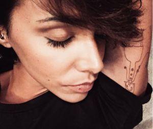 Shy'm dévoile son nouveau tatouage, un dessin réalisé par son petit frère