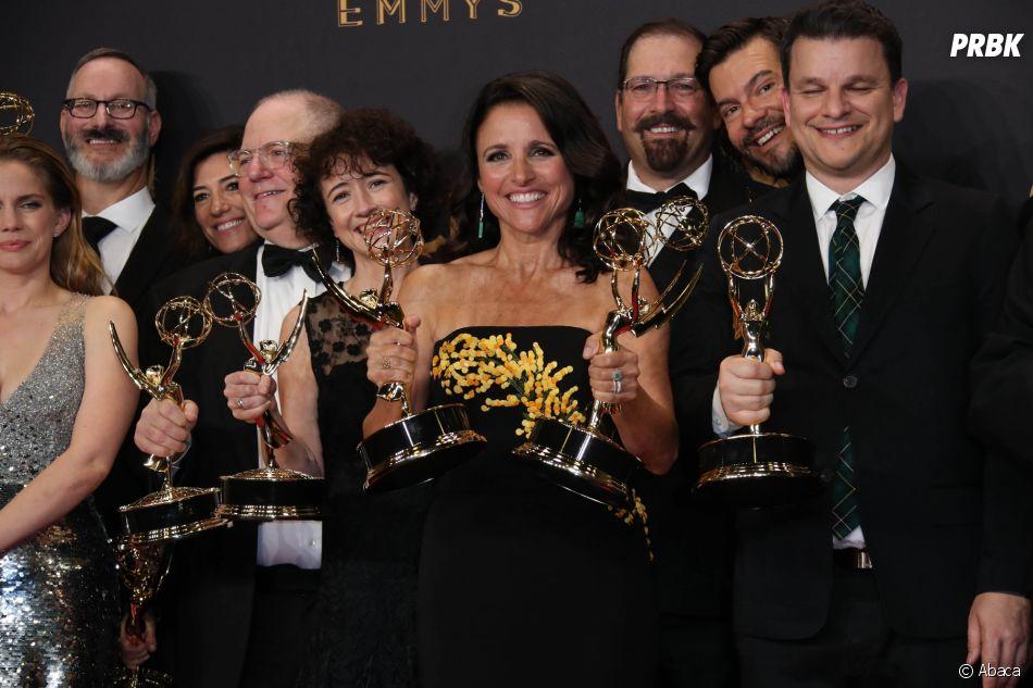 Emmy Awards 2017 : Julia-Louis Dreyfus sacrée meilleure actrice dans une série comique pour Veep !