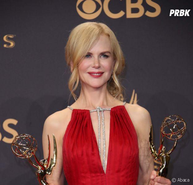 Emmy Awards 2017 : Nicole Kidman sacrée meilleure actrice dans une mini-série pour Big Little Lies.