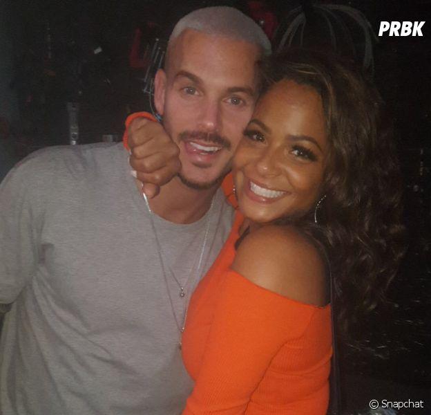 M. Pokora et Christina Milian toujours en couple ? Leurs retrouvailles trop cute au concert de MHD !