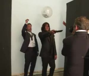 Andrew Lincoln piège Norman Reedus.