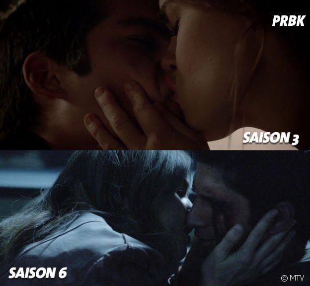 Teen Wolf saison 6 : un baiser similaire