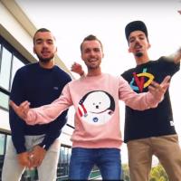 Squeezie rappe avec Big Flo & Oli : leur freestyle surprenant avec Alain Rey !