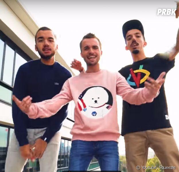 Squeezie slame avec Big Flo & Oli : leur freestyle surprenant avec Alain Rey !