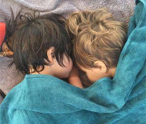 Shakira et Gerard Piqué : leurs enfants Sasha et Milan