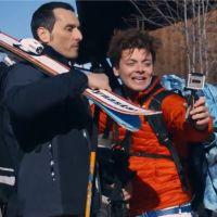 Tout là-haut : Kev Adams, YouTubeur/snowboarder spectaculaire dans le trailer