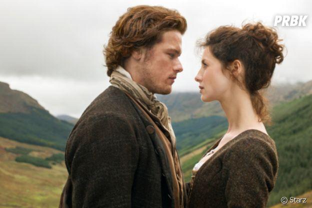 Outlander : Caitriona Balfe et Sam Heughan