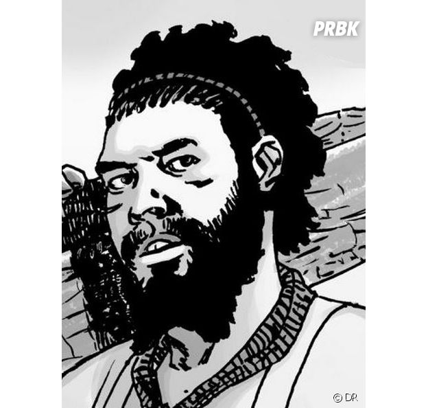 The Walking Dead : Siddiq dans les comics
