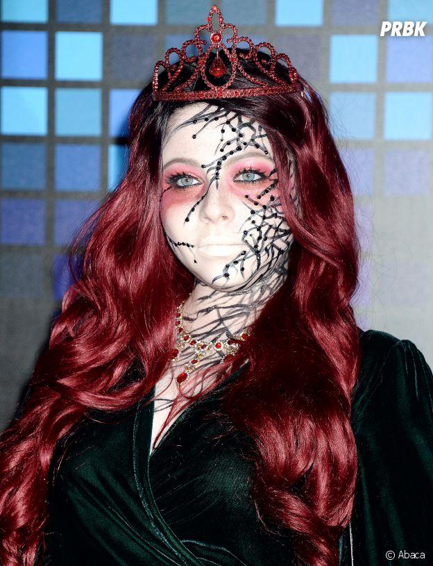Michelle Trachtenberg métamorphosée pour Halloween