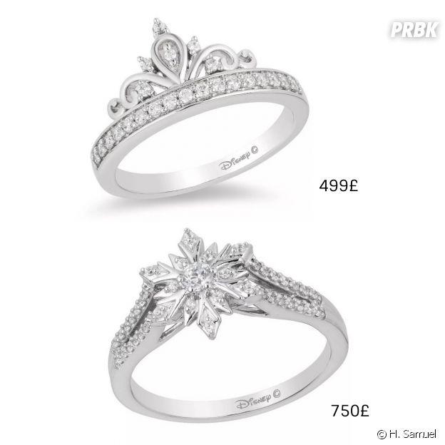 Disney x H. Samuel : transformez-vous en princesse avec les bagues de fiançailles inspirées de La Reine des Neiges !