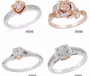 Disney x H. Samuel : transformez-vous en princesse avec les bagues de fiançailles inspirées de Belle !