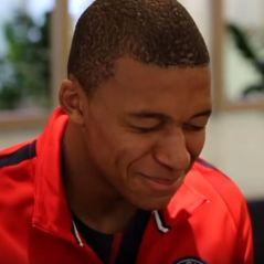"Kylian Mbappé, Adrien Rabiot, Alphonse Areola... Le PSG s'essaye au ""Tu ris, tu perds"""