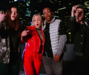 "Justice League : la BO ""Come Together"" chantée par les Youtubeurs Clara Marz, Trodrick Hall, Samantha Harvey, Mario Bautista et J.Fla."