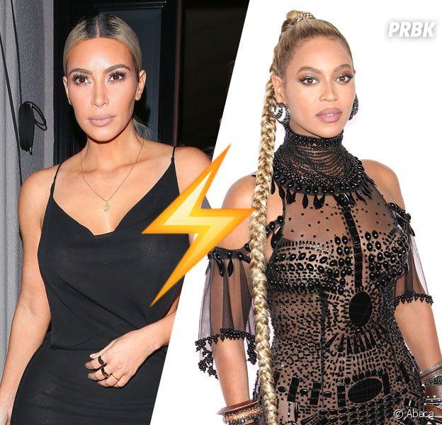 """Kim Kardashian """"ridicule"""" ? Beyoncé la clashe !"""