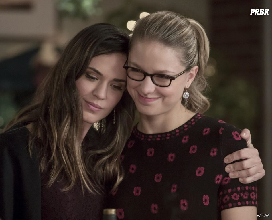Supergirl saison 3 : Kara et Sam dans l'épisode 9