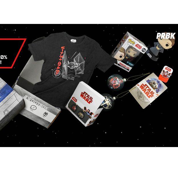 Star Wars : unboxing des produits de la wootbox au contenu 100 % Star Wars