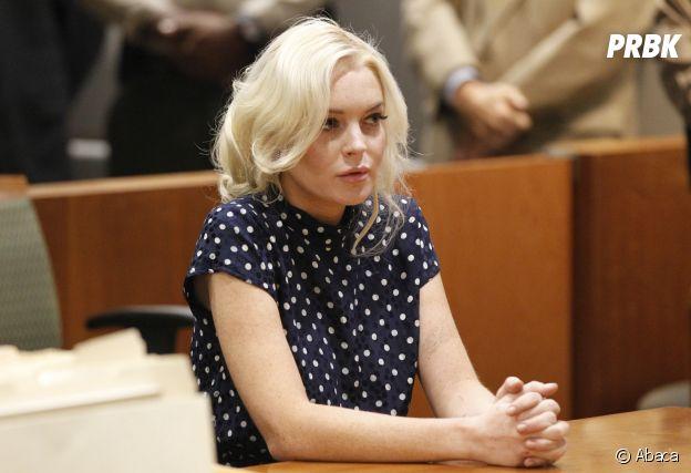 Lindsay Lohan au tribunal en 2011