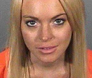 Lindsay Lohan : son mug shot en 2010