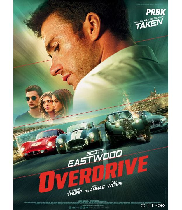 affiche du film Overdrive avec Scott Eastwood