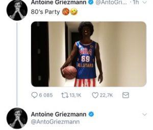 Antoine Griezmann lynché pour sa blackface, il efface son tweet puis s'excuse