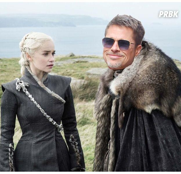 Game of Thrones : Brad Pitt prêt à 120 000$ pour voir un épisode avec... Emilia Clarke