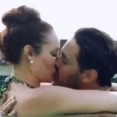 Gabano (La Villa des Coeurs Brisés 3) embrasse Jesseka : Nadège va tomber de haut