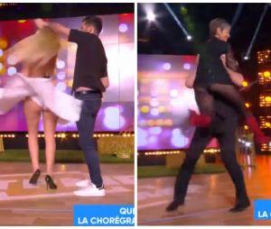 Kelly Vedovelli (TPMP) et Isabelle Morini-Bosc dévoilent accidentellement leur culotte