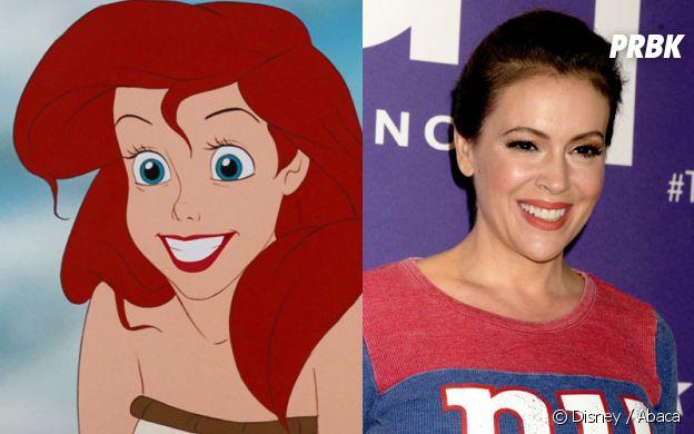 Ariel inspirée par Alyssa Milano