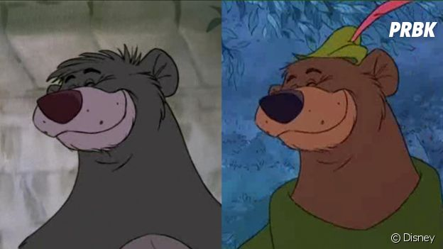 Robin des Bois a utilisé des animations du Livre de la Jungle