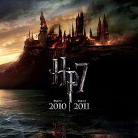 Harry Potter 7 ... La première affiche donne le ton du film ... Sombre