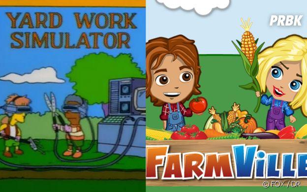 Les Simpson ont prédit Farmville