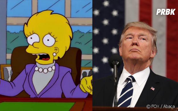 Les Simpson ont prédit l'élection de Donald Trump