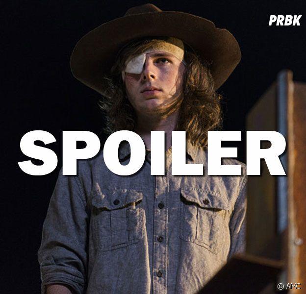 The Walking Dead saison 8 : Carl de retour dans la suite ? Chandler Riggs répond