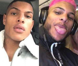 Marvin (Les Princes et les Princesses de l'amour) métamorphosé : il s'est teint les cheveux en rose !