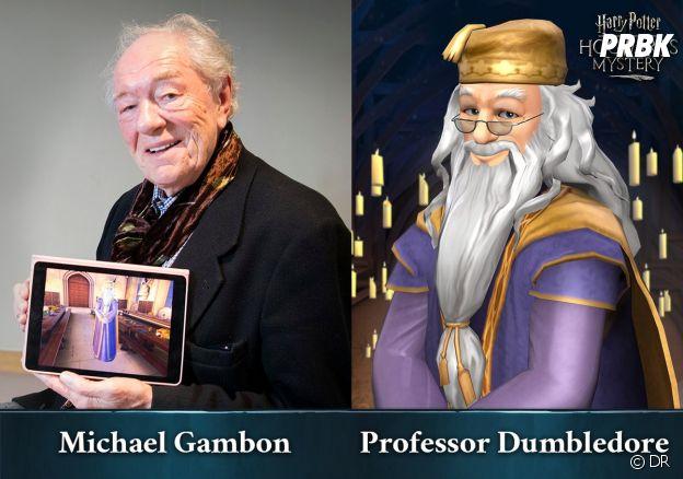 Hogwarts Mystery : Michael Gambon reprend son rôle de Dumbledore